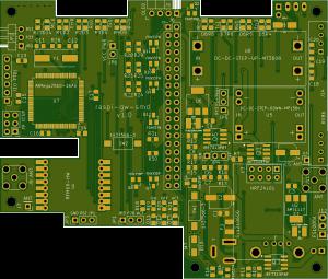 d-diot board  v.1.0 - front