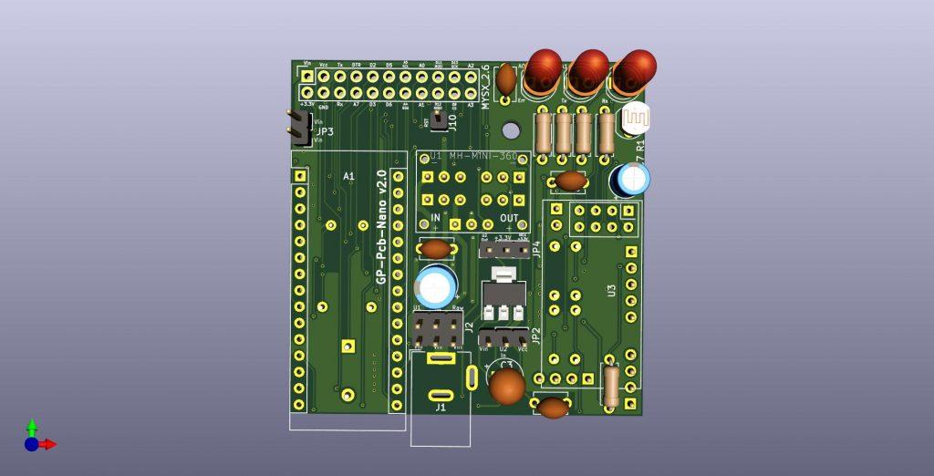 GP PCB Nano - Front view
