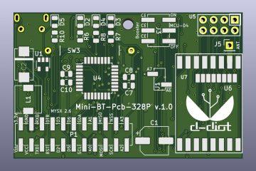 Mini-BT-Pcb-328P